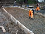 Zbrojenie płyty zabezpieczającej kolektor istniejącego kanału kanalizacji deszczowej