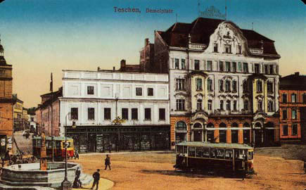 Hotel, pocztówka z 1915 r.