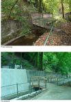 Ogród Dwóch Brzegów 2013-2015 - zdjęcia przed projektem i po jego zakończeniu