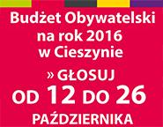 Głosowanie na Budżet Obywatelski na rok 2016